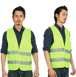 Reflective vest. New
