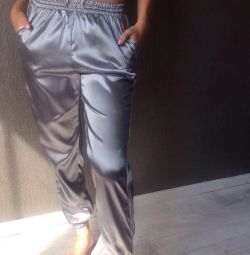 Satin pants. Nectar Store