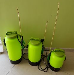 Sprayer electric rechargeable 5,8,10L