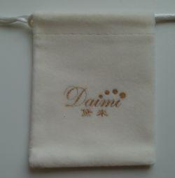 Τσάντα δώρου για λευκό κοσμήματα Daimi