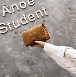 🌿Велюровые сумочки на цепочке