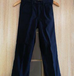 Școală pantaloni r. 134