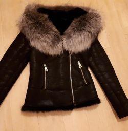Palton de piele de oaie superb, promoție !!! 💥💥💥