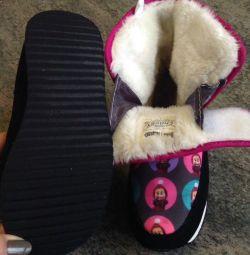 Bir kış kız için çocuk botları Crosby