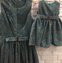 Φόρεμα έξυπνη μητέρα + κόρη 42