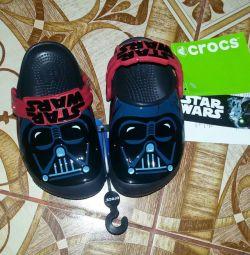 Новые кроксы Crocs star wars c8