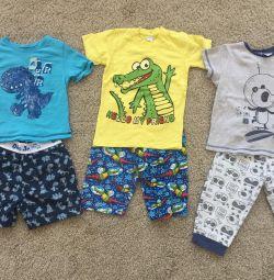 Set pijamalar 98 yükseldi