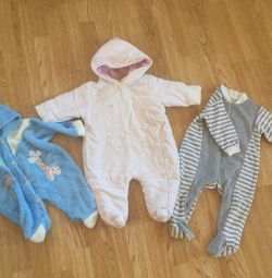 Overalls 0-6 months