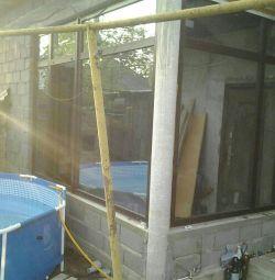 Brick laying, plaster, heating, electrics, etc.
