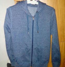 Hoodie sweatshirt height 146