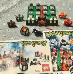 3 Lego 3837, 3864, and 3863 Board Games