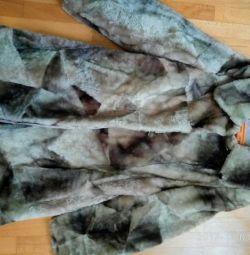 Fur coat, mouton