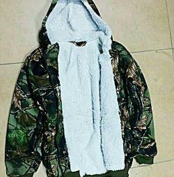Μπουφάν fleece, μόνωση γούνας