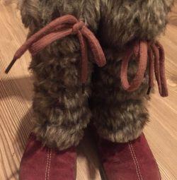 Winter boots Zebra