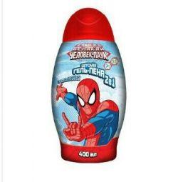 Gel-spumă pentru Spiderman suflet