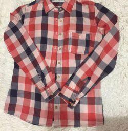 Рубашка в клетку Sela