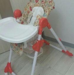 Υψηλή καρέκλα για παιδιά Amalfy