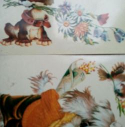 kartpostallar iki tane temiz