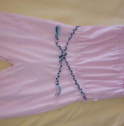 Summer jumpsuit for growth86-93