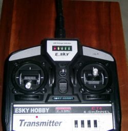 Esky hobby et4 control panel for 4 channels.
