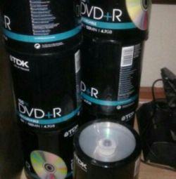 DVD + R κουβέρτες
