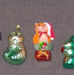 Jucării de Crăciun CCCP