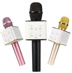 Q7 ασύρματο μικρόφωνο καραόκε νέο