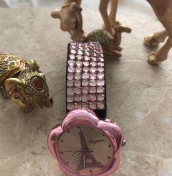Pink ceasuri toate în stras noi