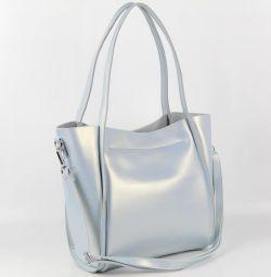 Женская кожаная сумка 1811 Л.Блу