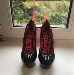 Pantofi cu vârfuri.