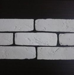 Decorative brick plaster tiles