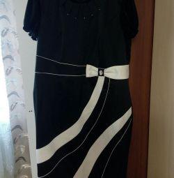 φόρεμα με μπουφάν 54size