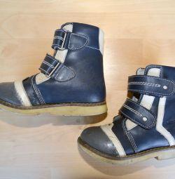 Çocuklar için ortopedik kışlık botlar, büyüklük 27