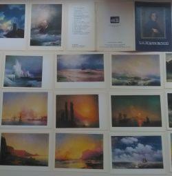 Καρτ ποστάλ και Κάρτες Fly από διαφορετικές χώρες για διαφορετικά χρόνια στο