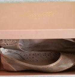 Pantofi de balet Lisette, folosite, p-38