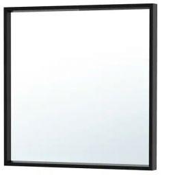 Mirror, frame black, Ikea