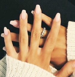 Manicure, gel varnish