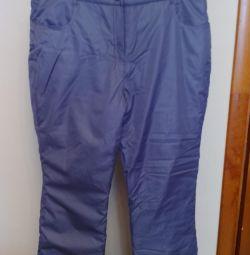 New winter pants r 58-60