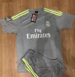 Football form Real Madrid, new, size XL