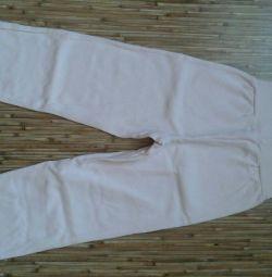 Pants summer pink