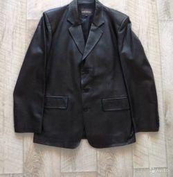 Ceket erkeğinin (doğal deri)