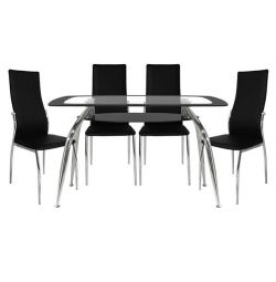 SET TABLES 5 MODERN TABLES NORRIS 120X75-KIM MAY
