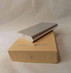 16800 mAh external battery unpacked