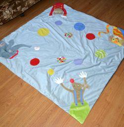 Коврик детский игровой напольный