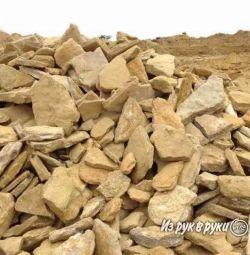Бутовый камень - доставка