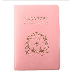 pașaport acoperă