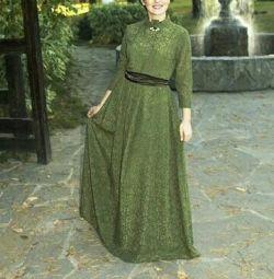 Βραδινό φόρεμα με δαντέλα 46-48