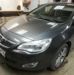 Installation of GBO 4 generations on the Opel Astra J K. 1.6