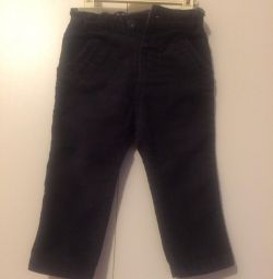 Zara corduroy trousers in excellent condition