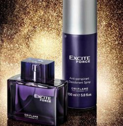 Parfum set Excite Force